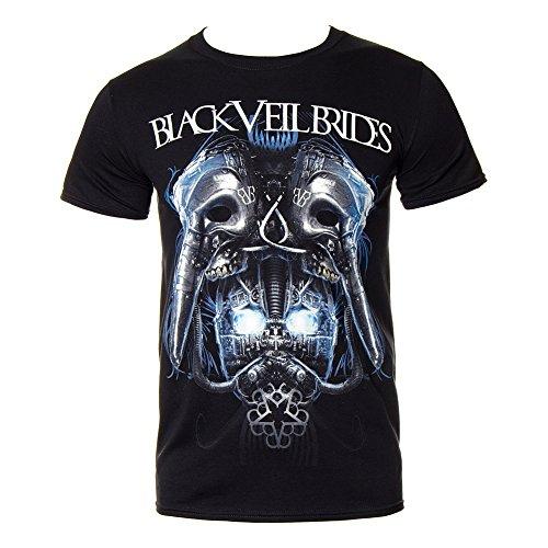 Band Merch - T-shirt - Homme Noir Noir - Noir - Taille Unique