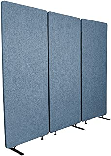 ReFocus Acoustic Room Dividers | Office Partitions – Reduce Noise and Visual Distractions with These Easy to Install Wall Dividers (72