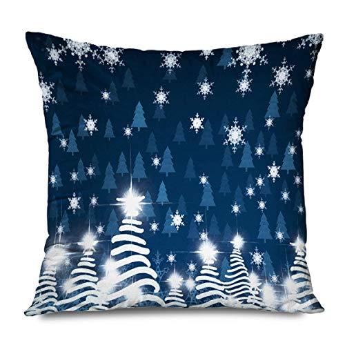 Suo Long Fundas de colchón Evento Colorido Hermoso Copos de Nieve en Color Cielo Abstracto Vacaciones Foco Eve Starry Celebrar Funda de Almohada