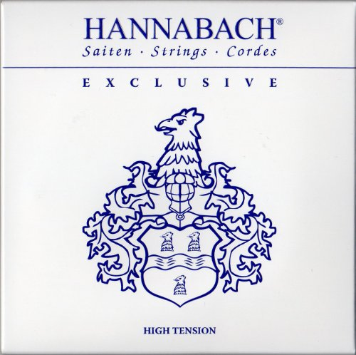 Hannabach 652747 Klassikgitarrensaiten Exclusive Serie High Tension - Satz