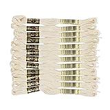 DMC 25番糸 刺繍糸 12束入 8m ECRU ベージュ系 DMC25B