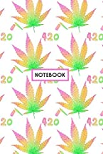 Notebook: Weed 420 Marijuana Notebook (Composition Book, Journal, Diary) (6.14