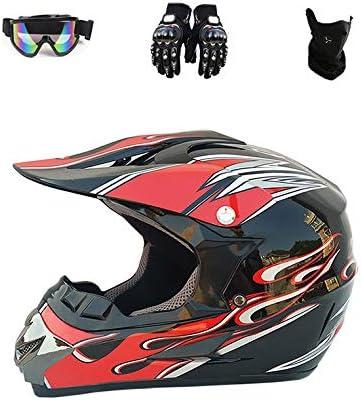 Motorcycle Helmet Adult Full Unisex Motocross 5 ☆ popular New arrival Prot Face