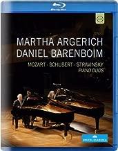 Martha Argerich and Daniel Barenboim, Piano Duos