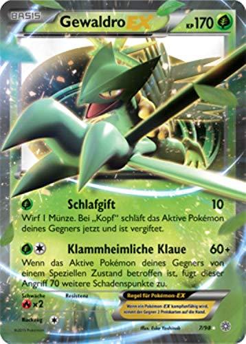 Gewaldro EX 7/98 Pokémon XY Ewiger Anfang Sammelkarte - Deutsch - Cardicuno