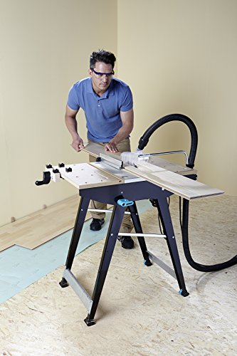 wolfcraft 6906506 Master Cut 1500 - Precision Saw Table And Work Station, Black