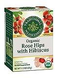 Traditional Medicinals Tea Rose Hips Hibiscus Organic, 16 ct