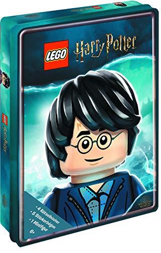 LEGO® Harry PotterTM - Meine LEGO® Harry PotterTM Rätselbox: 4 Rätselbücher, 5 Stickerbögen, 1 MInifigur