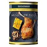 Naturseed - Pato Confitado - Criados en libertad, comiendo hierba y maiz no GMO - El pato mas rico y sabroso en solo 10 min de horno o microondas - Conservados en su propia Grasa (12-13 muslos)