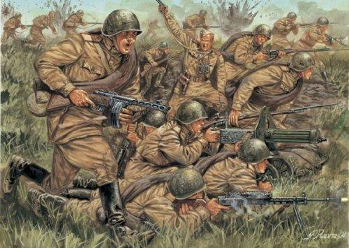 Italeri 510006057 - 1:72 WW2 Russische Infanterie