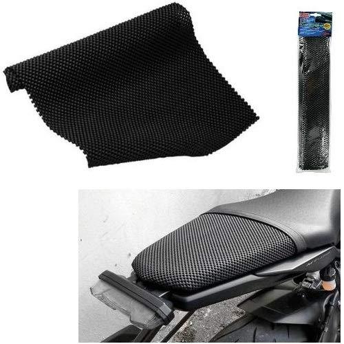 Compatible con AIXAM alfombra de goma antideslizante antivibración para salpicadero de coche y revestimiento para sillines de moto scooter portaobjetos para cualquier uso