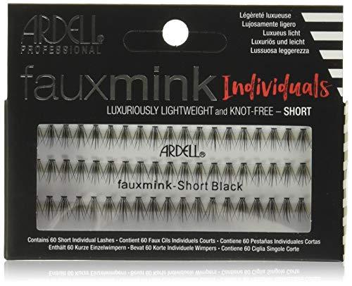 ARDELL Faux Mink Individuals Short Künstliche Wimpern, Black, 25 g