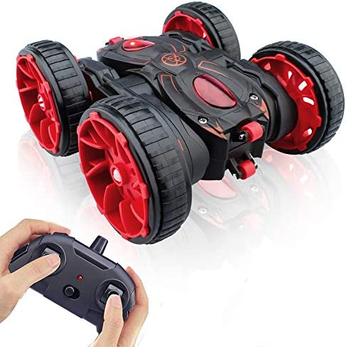 Remote Control Stunt Car Christmas RC Car Toy All Terrain Off Road 4WD Double Sided Running product image