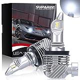 【令和2年最新モデル】SUPAREE H8 H11 led ヘッドライト 新車検対応 12000LM 40W 12V/24V車対応(ハイブリッド車・EV車対応) ホワイト 6500K ファンレス 爆光 フォグランプ 2個入 3年保証