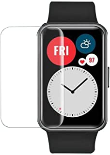 VOGUESS Huawei Watch Fit Screen Protector,Explosion-proof Soft TPU Clear Protective Film Full Screen Protector Cover Smart...