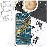 RTYUI For HTC uno U11 M7 M8 M9 M10 E9 más Deseo 530, 626, 628, 630, 816, 820 de móvil del TPU Estuches de teléfono diseño de mármol Ultraslim (Color : Pattern 3, Size : For HTC Desire 816)