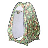 Kcelarec Pop Up Privacy Shelters Tent Instant Portable Outdoor Shower Tent, Camp Toilet, Changing Room, Rain Shelter for Camping and Beach