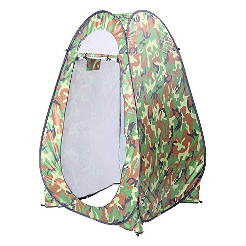 Pop Up Privacy Tent, Outdoor Shower Tent with Carry Bag, Instant Portable Sun Shelter, Changing Dressing Room, Camp Toilet, Bathroom, for Beach, Hiking & Camping