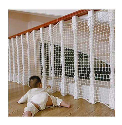Duchen Sicherheitsnetz für Kinder/Haustiere, für Geländer, Balkon, Treppe, Fenster, Terrassen, Geländer, Katzen-Schutznetz, stabiles Nylon, Kinder-Sicherheitsnetz