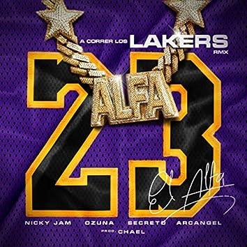 """A Correr los Lakers (Remix) [feat. Arcangel & Secreto """"el Famoso Biberon""""]"""