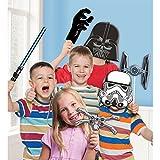 Amscan International 9903094 Star Wars - Juego de portafotos , color/modelo surtido