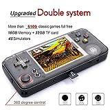 Anbernic Handheld-Spielekonsole mit eingebauten 3000 Classic Games + 2109 Open Source-Systemspielen,...