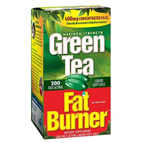 Green Tea Fat Burner, Natural ingredients, Powerful antioxidant blend, 200 Count