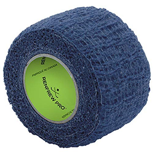 "Renfrew Stretchrap Grip Tape Scapa Hockey Stick, 1 Roll (1.5""/6yds, Blue)"