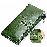 Billetera de moda, cartera de mujer, estilo casual, varios colores, bolso de moda para mujer, verde (Verde) - QB6546197