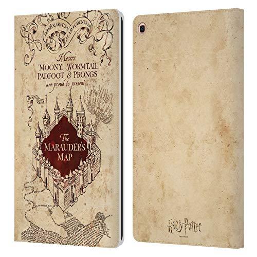 Head Case Designs Offizielle Harry Potter The Marauders Map Prisoner of Azkaban II Leder Brieftaschen Handyhulle Hulle Huelle kompatibel mit Samsung Galaxy Tab A 101 2019