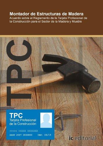 Tpc madera y mueble - montador de estructuras de madera