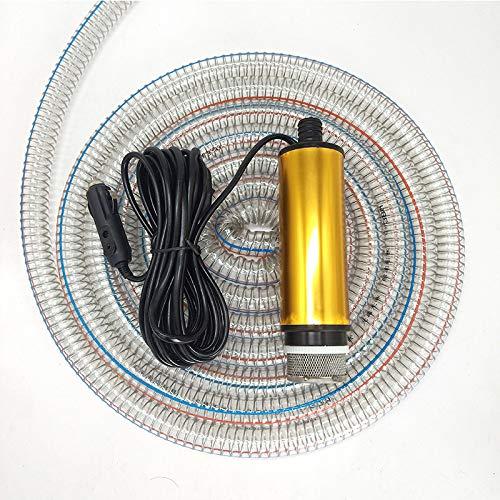 Bomba De Combustible Diesel Eléctrica 12 24V Agua Cigarrillos del Vehículo (Gasolina...