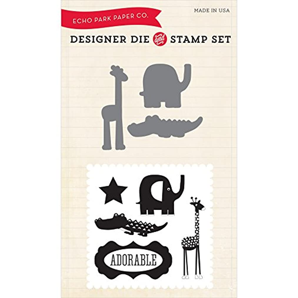 Echo Park Paper Company Little Man Die/Stamp Combo Set
