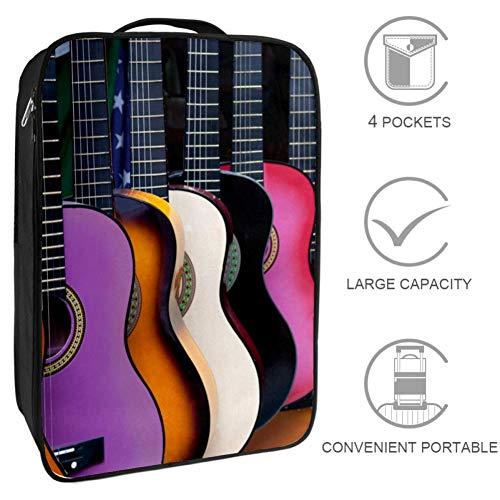 Bennigiry Reisetasche für Schuhe, mexikanische Gitarre, tragbare Aufbewahrung, Organizer, Golf, Weekender, Schuhe, Taschen für Damen und Herren