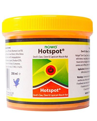 Hotspot Devils Claw, Clove and Capsicum Muscle Rub 200 ml tub