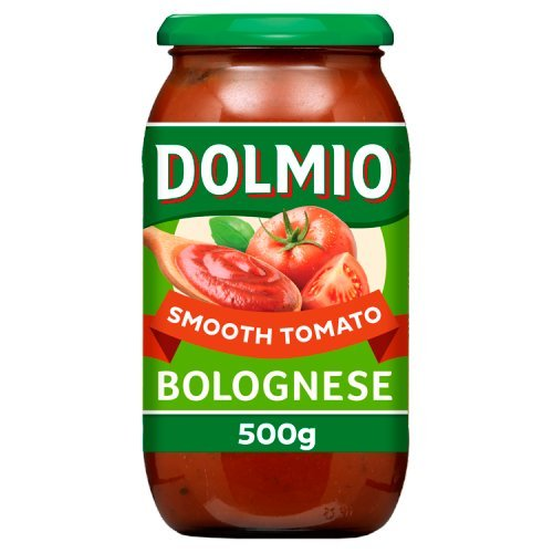 Dolmio Bolognese Smooth Tomato Pasta Sauce 500 g
