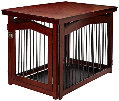 Merry Pet 2-in-1 Configurable Pet Crate and...
