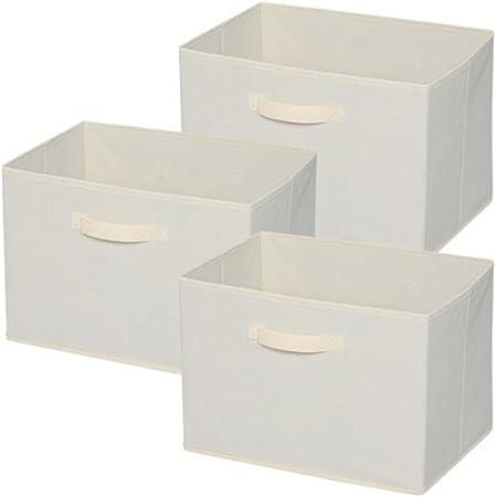 アイリスオーヤマ ボックス インナーボックス ナチュラル 3個セット 幅38.5×奥行27×高さ27cm FIB-38×3
