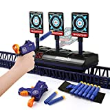 SNAEN Running Shooting Targets - Electronic Auto Reset Digital Scoring Targets w/ Shooting Tool,Outdoor Games Interactive Sports Toys for Kids Boys Girl(3 Targets)