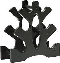 HB1 3-tier halter opbergrek standaard meerlaagse handheld halter opbergrek voor thuis, kantoor sportschool organisatie (zo...