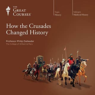 How the Crusades Changed History audiobook cover art
