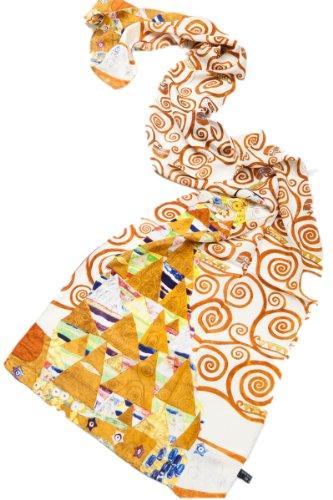 Prettystern vrouwen Gustav Klimt art prints zijden sjaal