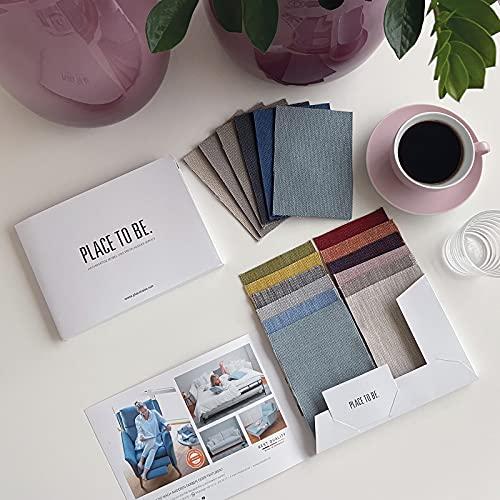 place to be. Stoffmuster für Kollektion Insideout Relaxsessel Polstermöbel Stoff in vielen Farben