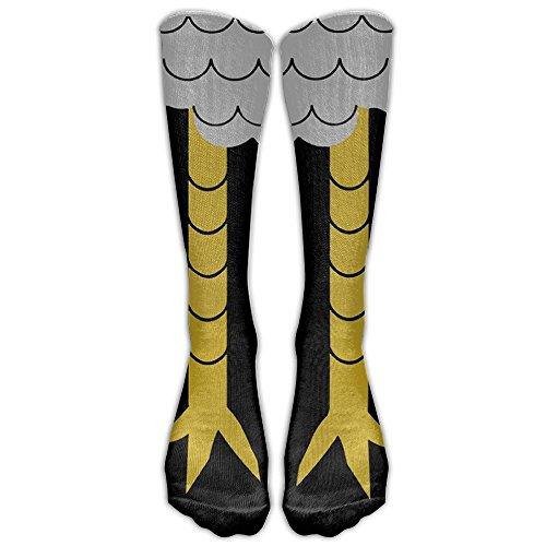 Chicken Foot Compression Socks For Men & Women - BEST For Running, Nurses, Shin Splints, Flight Travel, Skiing & Maternity Pregnancy - Boost Athletic Stamina & Recovery