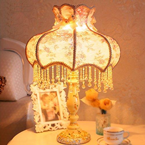 Bonne chose lampe de table Lampe de style pastoral continentale Lampe de table de chevet Lampe de table chaude Lampe de table créative Éclairage