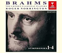 Brahms: Symphonies by Roger Norrington (2015-12-16)