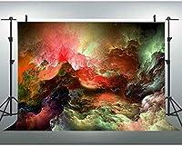 HD 7x5ftファンタジースカイ背景カラフルな雲自然の風景写真背景YouTube背景写真撮影小道具 072