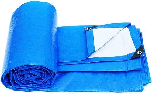 PIAOLING Bache imperméable Bache imperméable épaisse, bache Bleue de Toile de Toile de PVC d'auvent, 2 M × 3 M Durable (Taille   10  12 Meters)
