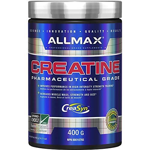 Allmax Pure Micronized Creatine Monohydrate Pharmaceutical Grade 400 Gram Strength