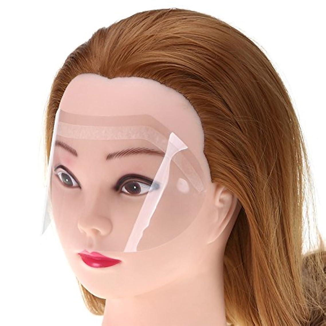 オープナー悩み高さ50ピース/パック熱い販売サロンヘアアクセサリーヘアアイプロテクターヘアフェイスカバーほこりを避けプロサロンツール
